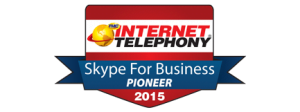 Skype for bus Pioneer Award
